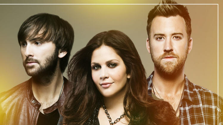 "This CD cover image released by Capitol Nashville shows ""Golden,"" the latest album by Lady Antebellum. (AP Photo/Capitol Nashville)"