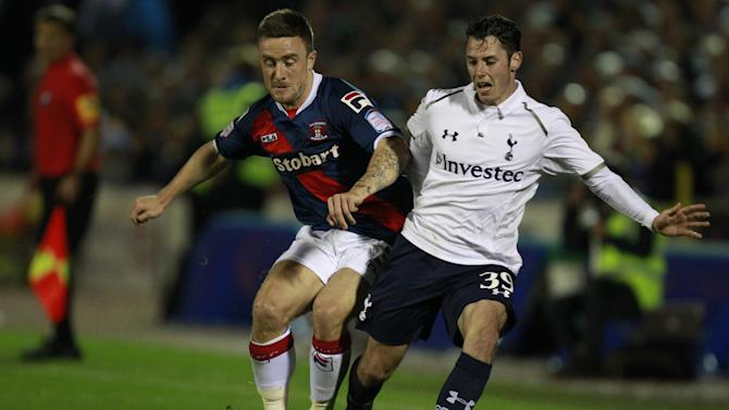 Adam Smith, right, was one of many youngsters in Tottenham's victorious side on Wednesday night