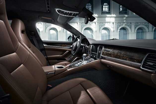 Panamera Exclusive interior picture
