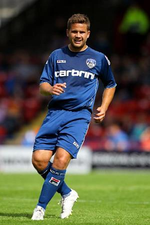 Oldham have been dealt a blow with the injury to James Wesolowski