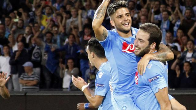Champions League - Dortmund in calamitous defeat to Napoli