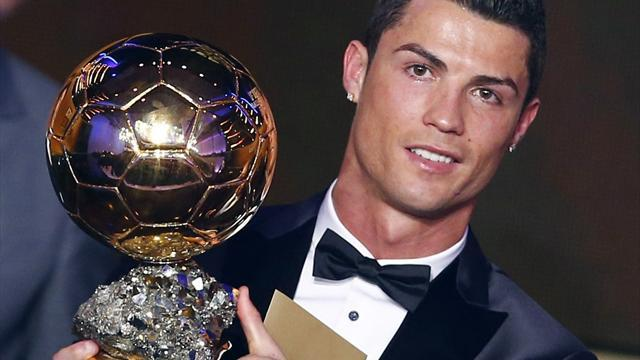 European Football - Ronaldo wins Ballon d'Or