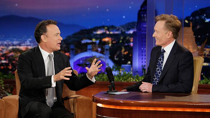 Hanks Tom Tonight Show