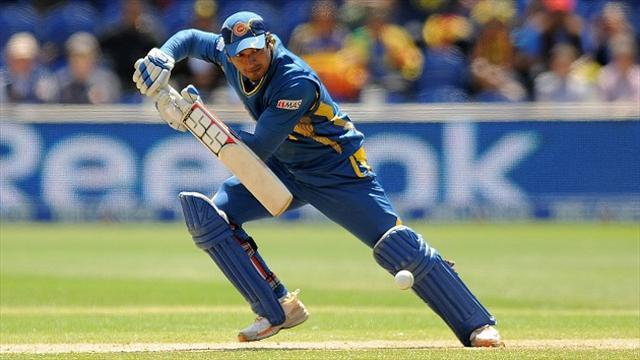 Cricket - Sangakkara leads the way for Sri Lanka