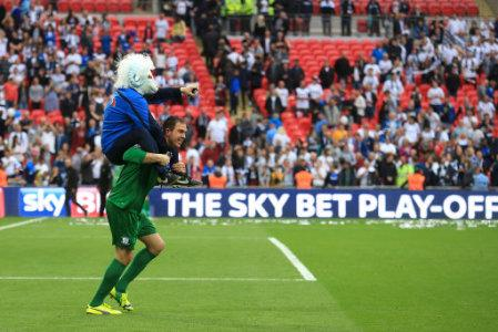 Soccer - Sky Bet League One - Play Off - Final - Preston North End v Swindon Town - Wembley Stadium