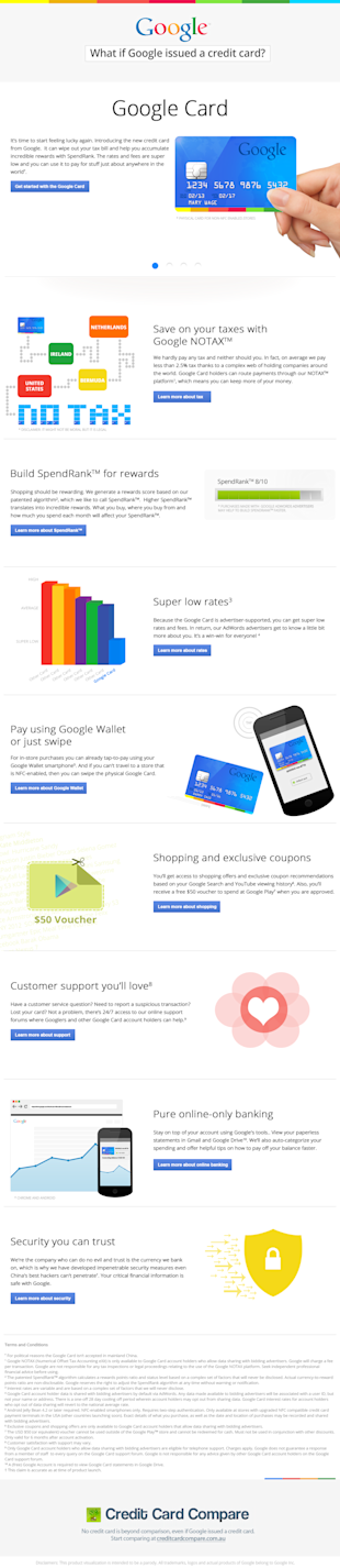 If Google Released This Credit Card, Would You Apply? image Google Card