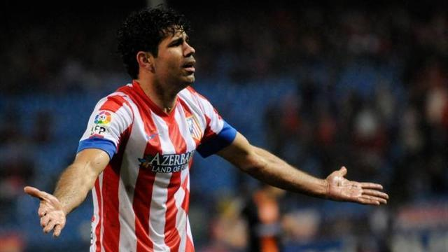 Premier League - Liverpool target Costa 'happy' at Atletico