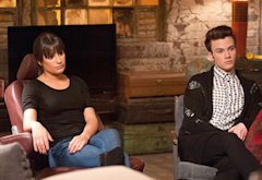 Lea Michele, Chris Colfer | Photo Credits: Adam Rose/FOX