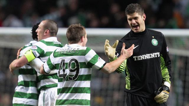 Scottish Football - Forster missing for Celtic