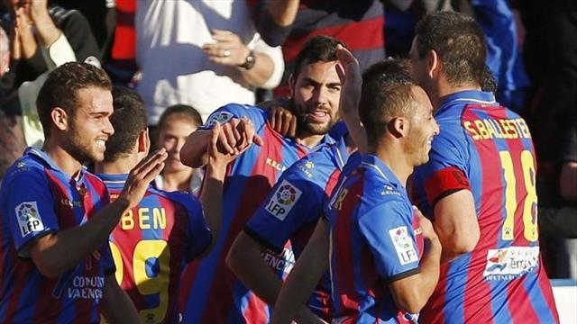 Liga - Levante fight back to down Athletic