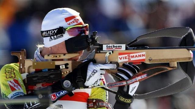 Biathlon - Kuzmina wins Antholz sprint