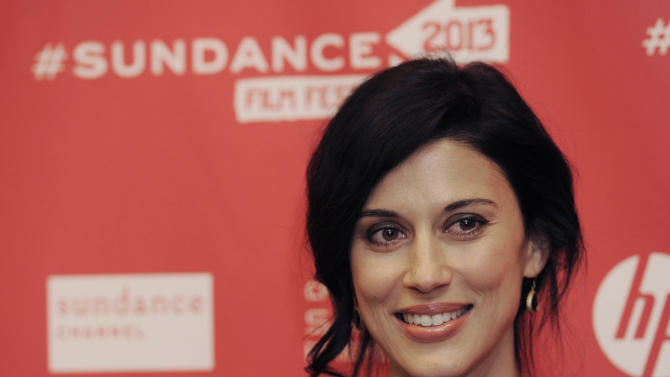 """Cherien Dabis, writer, director and star of """"May in the Summer,"""" poses at the premiere of the film on the opening night of the 2013 Sundance Film Festival, Thursday, Jan. 17, 2013, in Park City, Utah. (Photo by Chris Pizzello/Invision/AP)"""