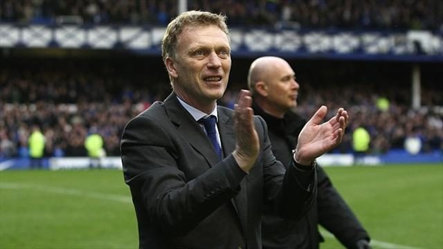 Premier League - Moyes hails his Toffees troops