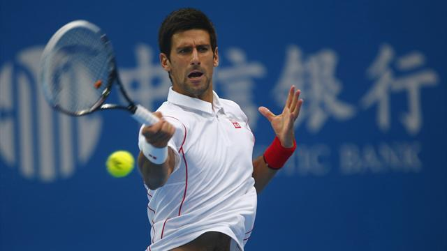 Tennis - Djokovic battles past Verdasco to China quarters