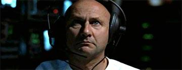 Donald Pleasence in Warner Brothers' THX-1138