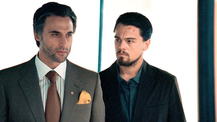 Mark Strong Leonardo DiCaprio Body of Lies Production Stills Warner Bros. 2008