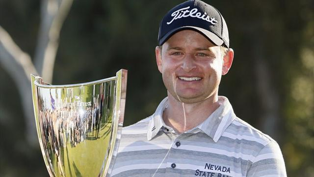 Golf - Merrick earns first PGA Tour win in play-off
