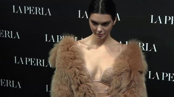 La Perla fetes 'street' bras at Milan fashion week