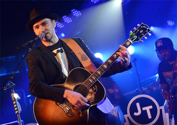 SXSW 2013: Justin Timberlake Brings Hard-Rock Energy to His Austin Set
