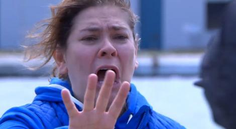 Myra McQueen meets her untimely end in 'Hollyoaks' Tuesday episode on C4.