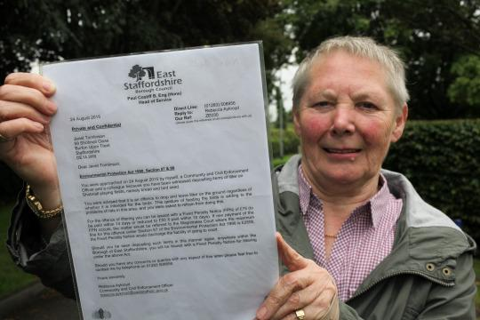 Council Secretly Snaps Pensioner Feeding Birds And Threatens Her With £2,500 Fine