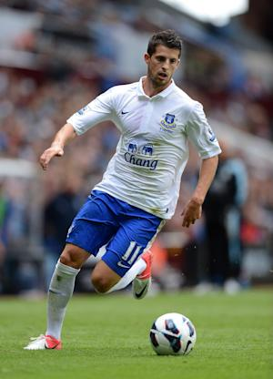 Kevin Mirallas has impressed the Everton coaching staff
