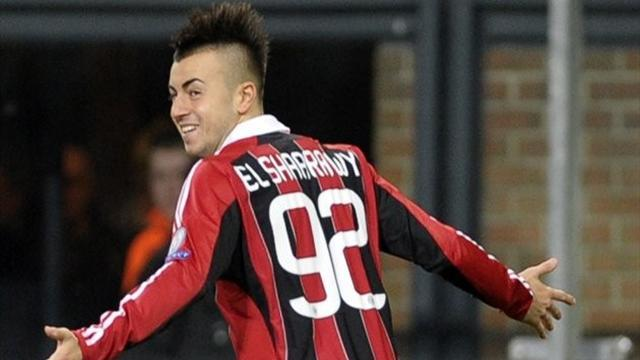 Serie A - El Shaarawy sees his future at Milan, not Man City