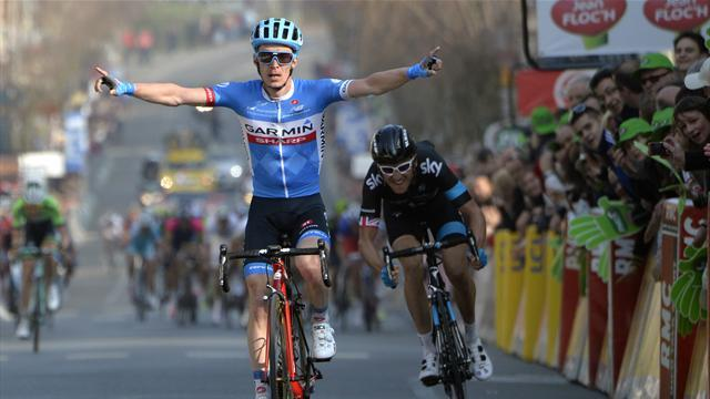 Cycling - GB's Thomas seizes yellow at Paris-Nice, Slagter wins stage four