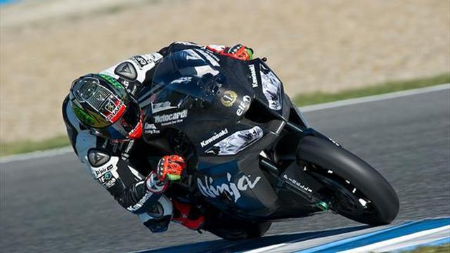 Superbikes - Sykes a second faster than qualifying at Jerez WSBK test