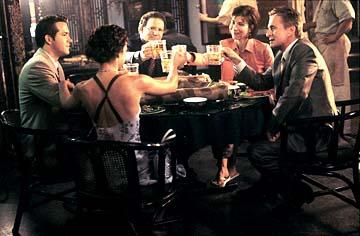 Ryan Reynolds , Lindsay Sloane , Albert Brooks , Maria Ricossa and Michael Douglas in Warner Bros. The In-Laws