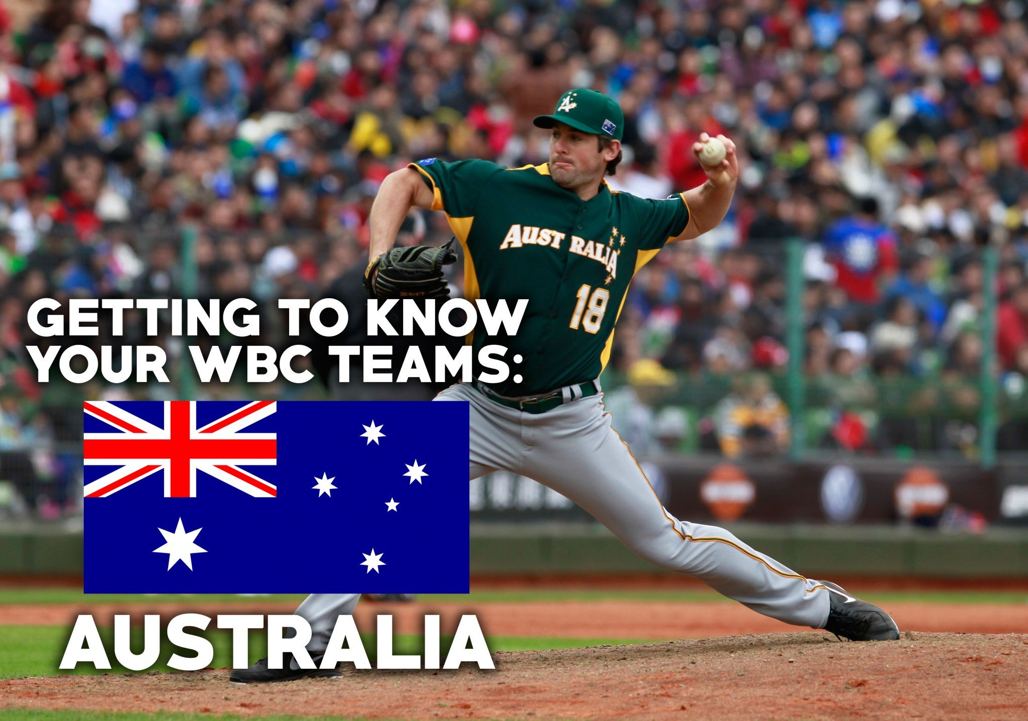 Australia has a chance to play spoiler in the World Baseball Classic. (AP)