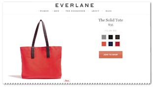 Marketing Evolution: How Brands Can Move From Text To Images image Everlane