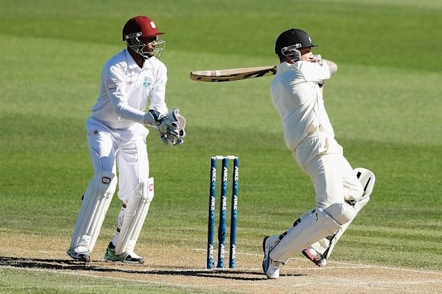 New Zealand v West Indies - Third Test: Day 2