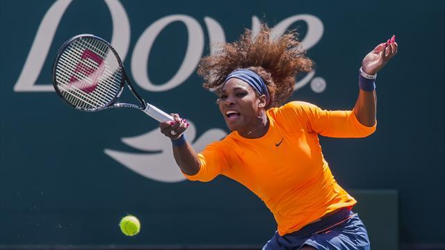 Tennis - Serena Williams claims third Charleston crown