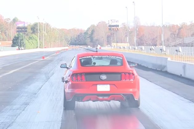 Mustang EcoBoost Rear photo