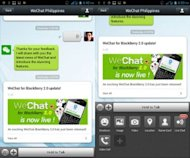 Why WeChat Can Help Promote Social Business image WeChat messenger 300x250