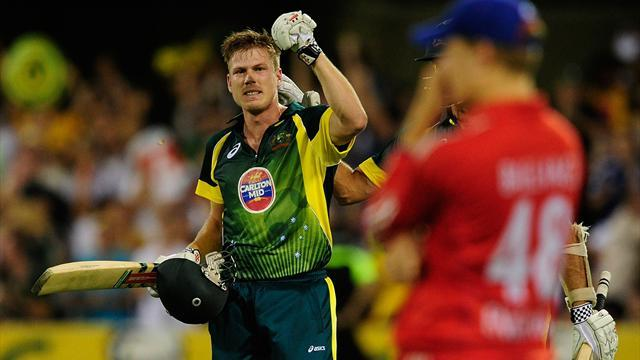 Cricket - Australia's Faulkner ruled out of Twenty20 series