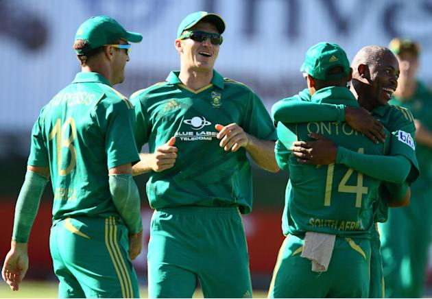 South Africa v New Zealand - 3rd T20 International
