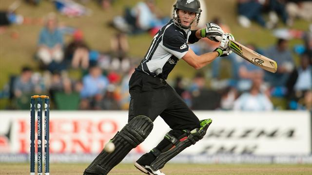 Cricket - Limping Guptill sees Black Caps home