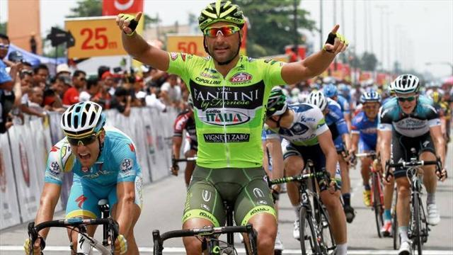 Cycling - Chicchi wins stage four Langkawi sprint