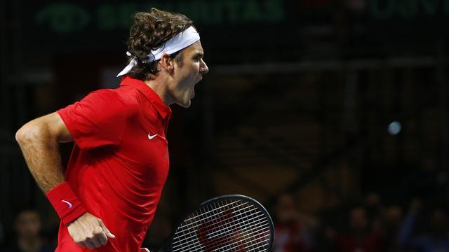 Davis Cup - Federer fires Swiss to win