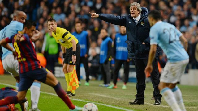 Champions League - Fuming Pellegrini launches astonishing attack on referee