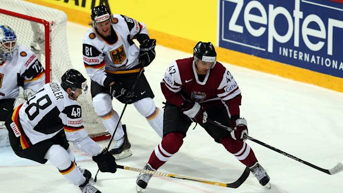 Germany v Latvia - 2013 IIHF Ice Hockey World Championship