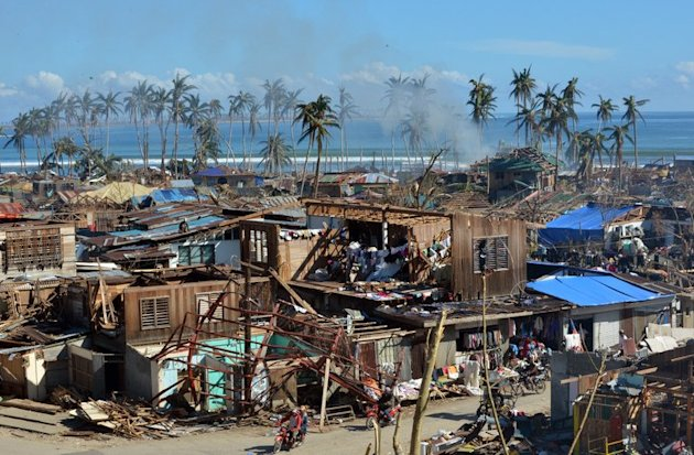 Devastation in the town of Baganga. Mindanao civil defence chief Benito Ramos said that -- unlike in the rest of the majority-Catholic Philippines -- there would be no Christmas parties in the storm hit towns, just the burials of bodies
