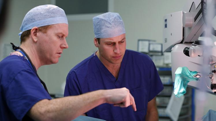 The Duke Of Cambridge Visits The Royal Marsden, Chelsea
