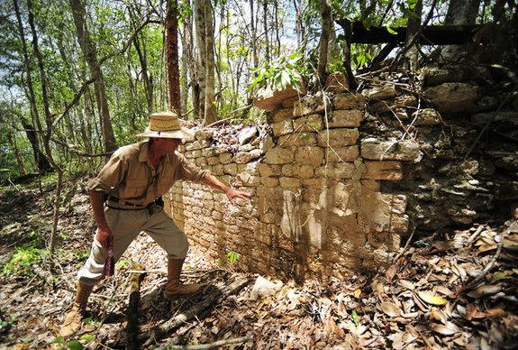 Archaeologist Ivan Sprajc led an international team of experts to study the Maya site.