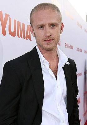 Ben Foster at the Los Angeles premiere of Lionsgate Films' 3:10 to Yuma