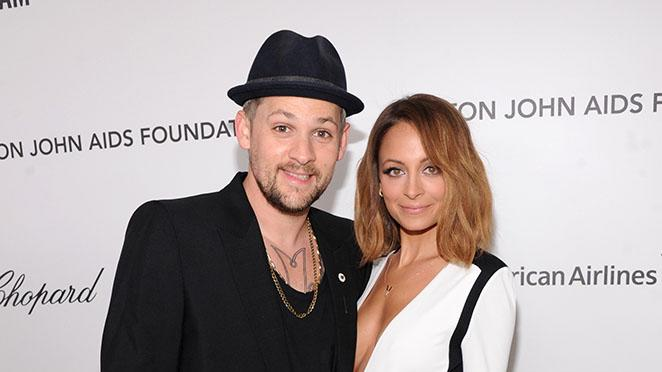 21st Annual Elton John AIDS Foundation Academy Awards Viewing Party - Red Carpet: Joel Madden and Nicole Richie