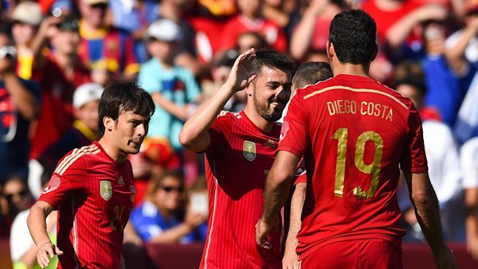 International friendlies - Villa double guides Spain to victory over El Salvador