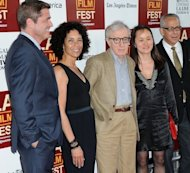 Los Angeles Film Festival Director Stephanie Allain, director/producer Woody Allen, Soon-Yi Previn, and LAFF director David Ansen arrive at Film Independent's 2012 Los Angeles Film Festival Premiere of Sony Pictures Classics' 'To Rome With Love' at Regal Cinemas L.A. LIVE Stadium 14 on June 14 in California. Allen says what drives him still is the desire to make a great movie